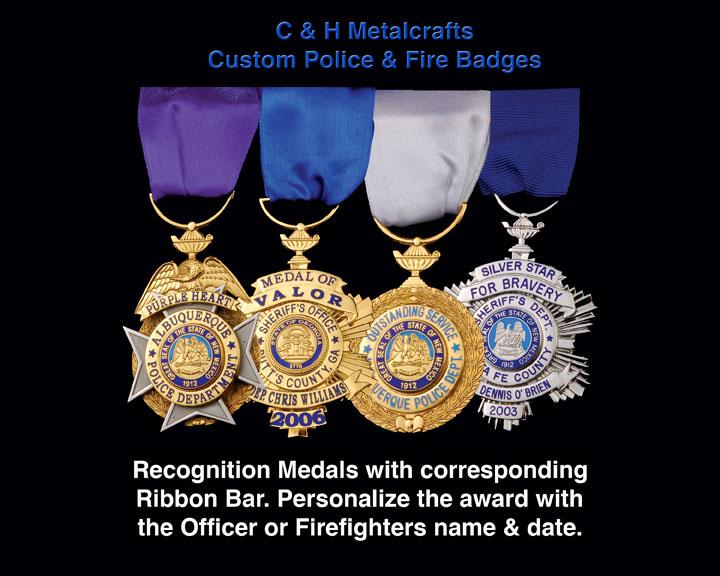 C & H Metalcrafts, Recognition Medals, Ribbon Bar