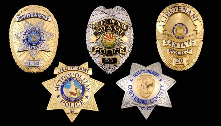 C & H Metalcrafts, High Quality Police & Fire Badges